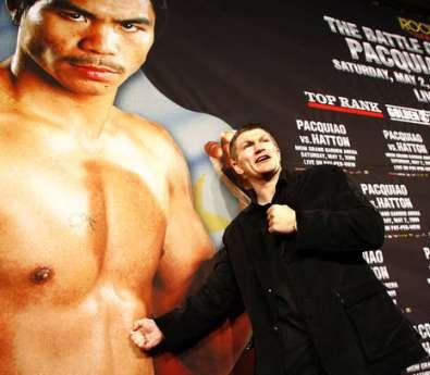 Хаттон. Фото: BoxingScene.com.