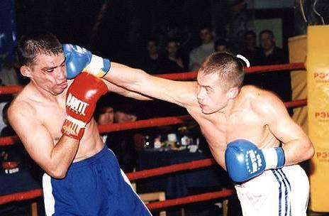 Сергей Степкин в атаке