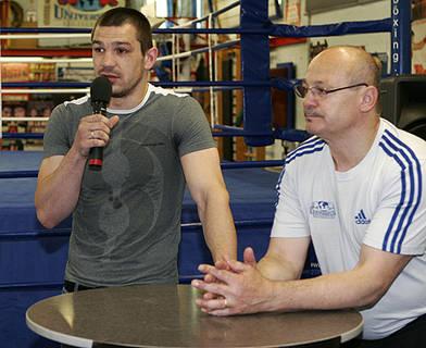 Тарас Биденко. Фото www.boxing.de