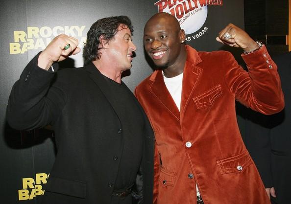Сталлоне и Тарвер на премьере фильма «Рокки-6» (фото: Ethan Miller/Getty Images Entertainment)