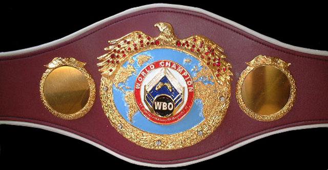 Пояс чемпиона Мира по версии WBO