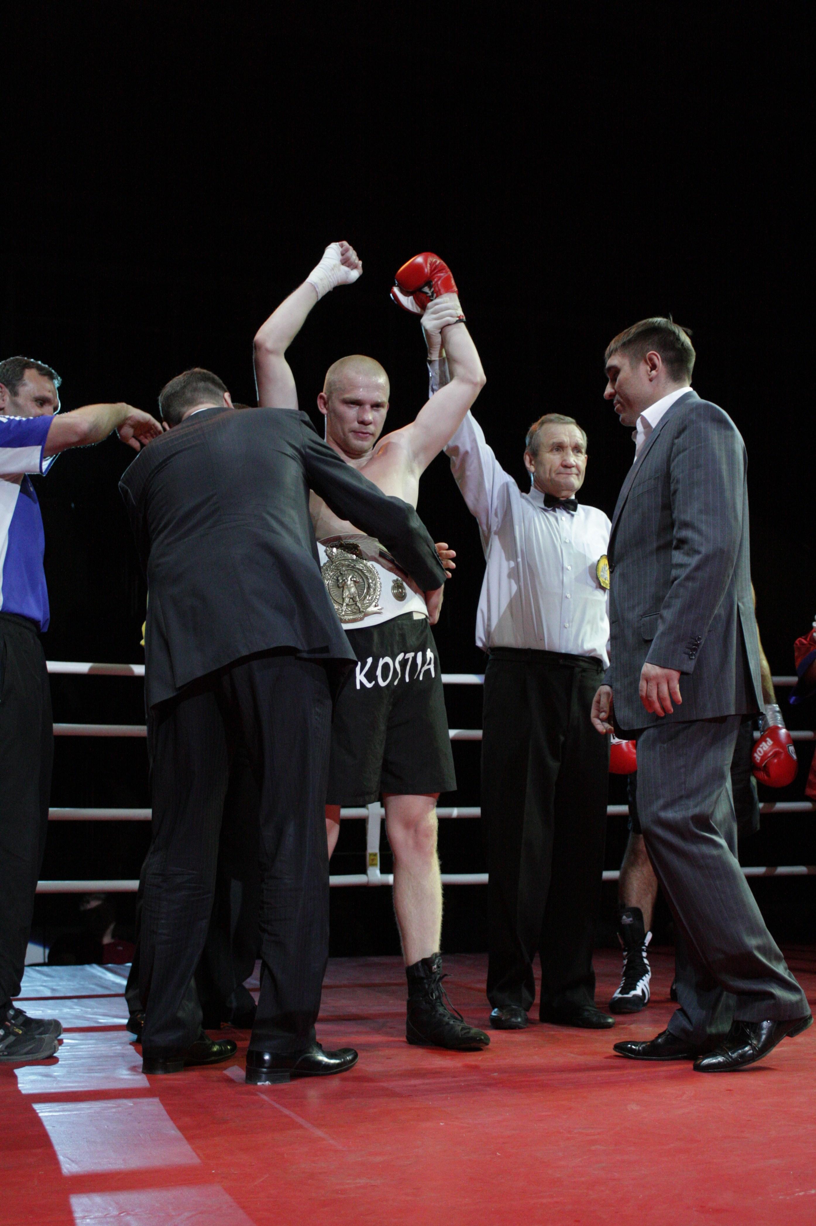 Новый Чемпион России Константин Питернов