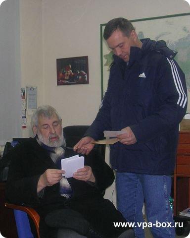 Писатель Нилин А.П. в гостях у Агеева В.П. (2)