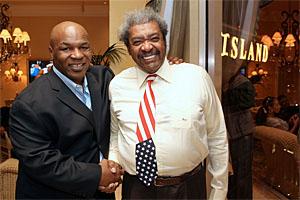 Дон Кинг и Майк Тайсон забыли прошлые обиды (1)