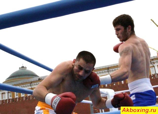 Хетаг Козаев в атаке