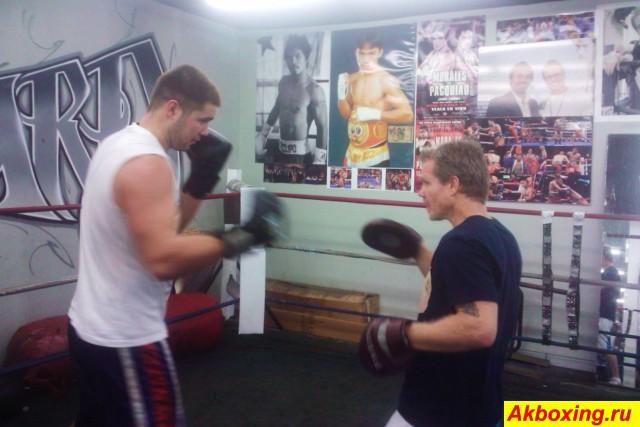 Владимир Терёшкин приступил к тренировкам в США (1)
