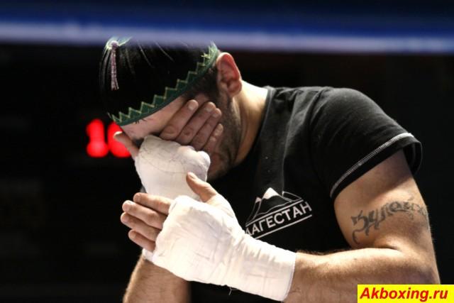 Ханлар Азизов уступил титул Чемпиона России