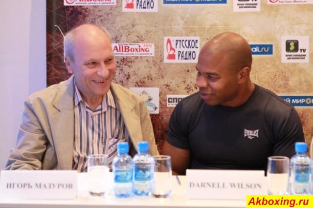 И.В. Мазуров на пресс-конференции в Москве