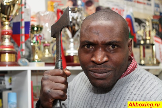 Соперник Константина Питернова из Танзании Бенсон Мвакембе