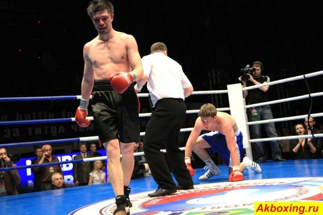 Профессиональный бокс в Красноярске. Как это было. (5)