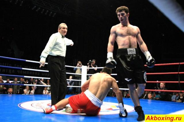 Профессиональный бокс в Красноярске. Как это было. (6)
