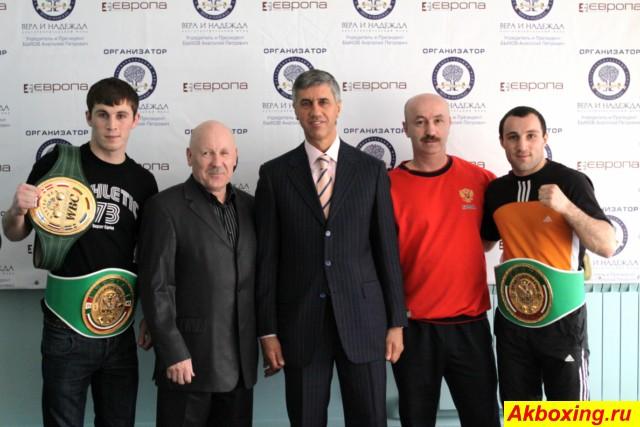 Профессиональный бокс в Красноярске. Как это было. (1)