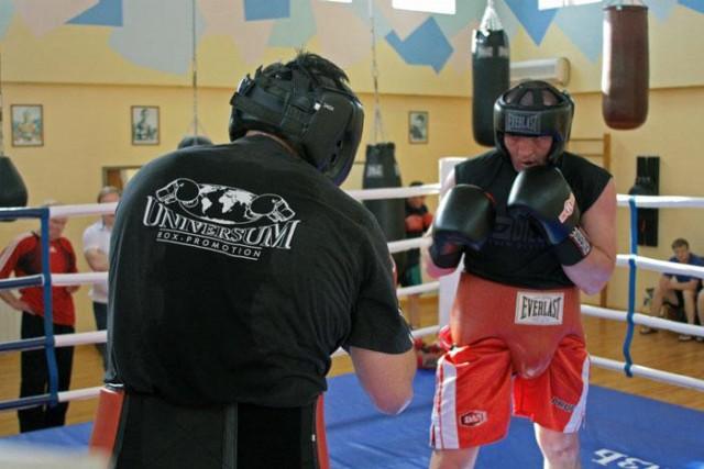 Денис Лебедев продолжает подготовку к бою с Алексеевым (1)