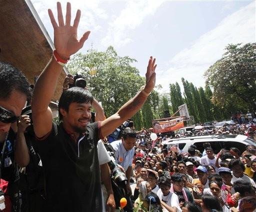 Мэнни Пакьяо может стать президентом Филиппин (1)