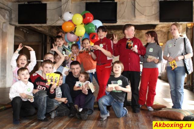 Александр Колесников провёл мастер-класс для детей (1)