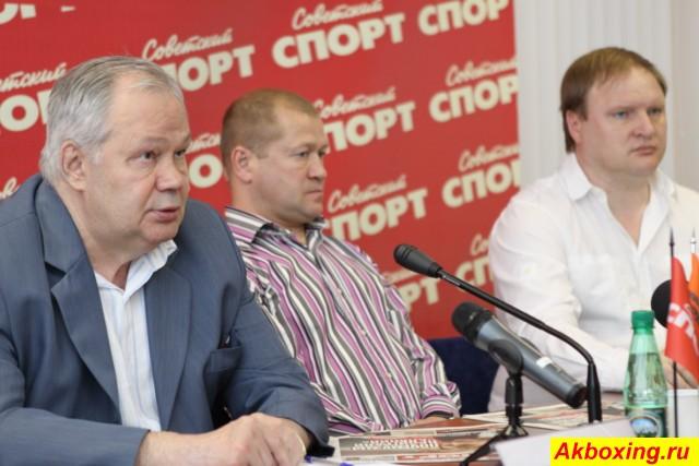 Пресс-конференция команды Поветкина (1)