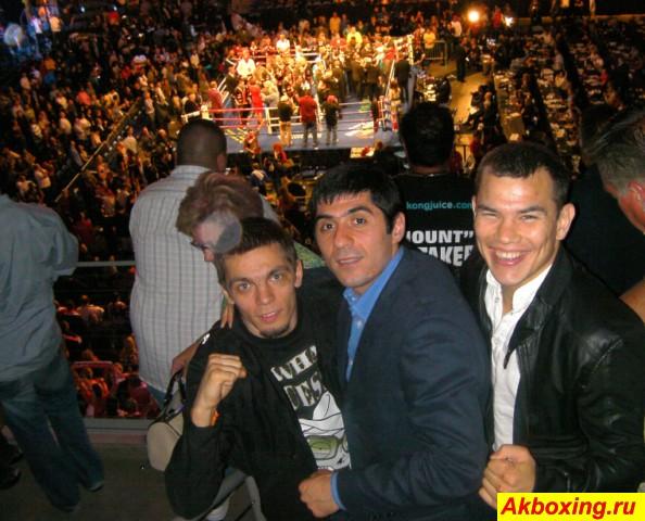 Арман Саргсян выходит на американский ринг (1)