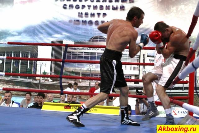 Профессиональный бокс в Климовске (2)