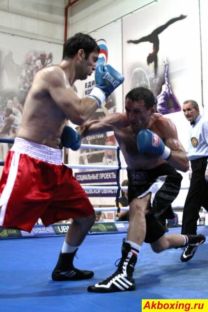 Профессиональный бокс в Климовске (3)