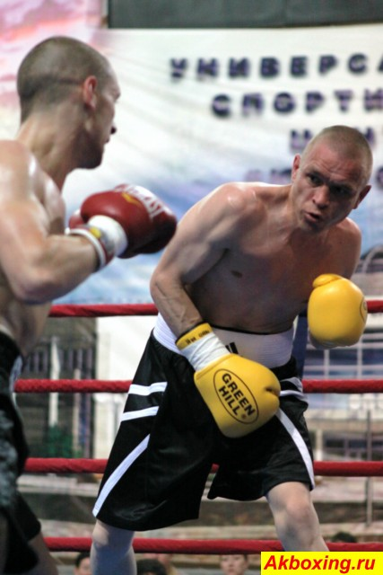 Профессиональный бокс в Климовске (6)
