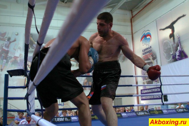Профессиональный бокс в Климовске (7)