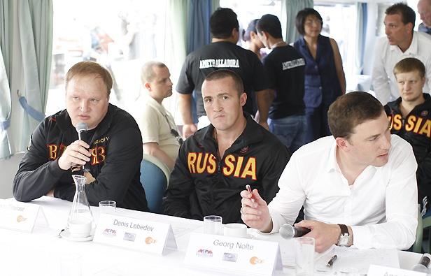 Пресс-конференция, посвященная чемпионской ночи «Юниверсума» (2)