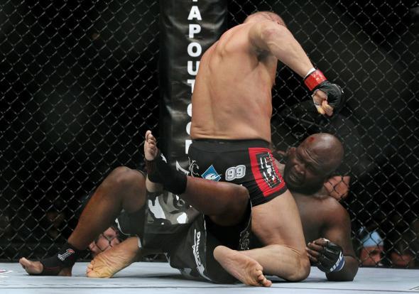 UFC против бокса: Рэнди Кутюр - Джеймс Тони  (2)