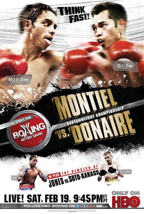 Бой недели: Фернандо Монтель - Нонито Донэйр (1)