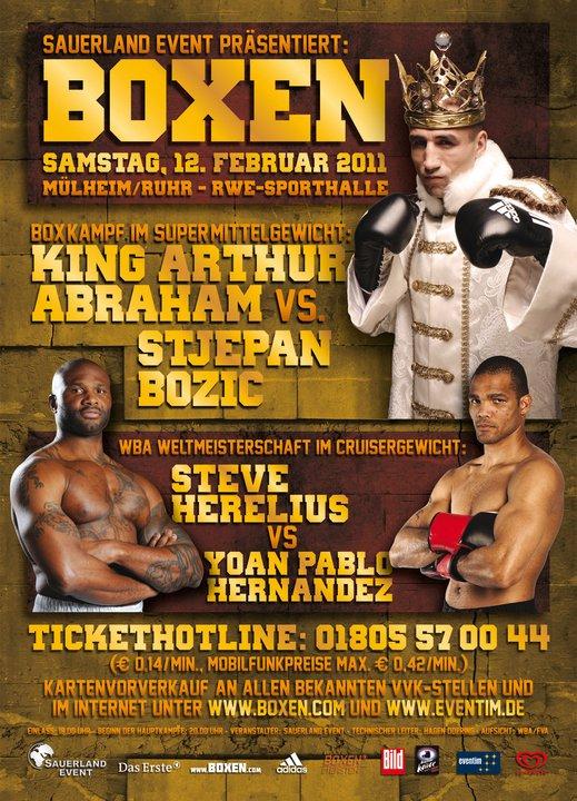 Боксерское шоу в Германии (1)