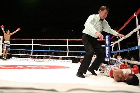 Японец стал чемпионом Мира WBC по боксу в седьмом поединке! (2)