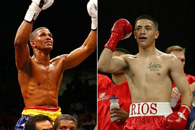 Чемпион мира WBA Мигель Акоста - претендент Брэндон Риос (1)