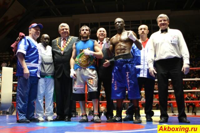 Предварительные результаты боксерского турнира в Ногинске (1)