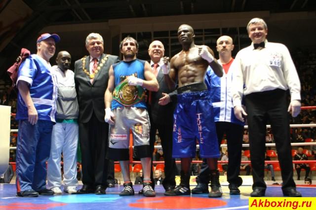 Итоги турнира по профессиональному боксу в Ногинске (3)