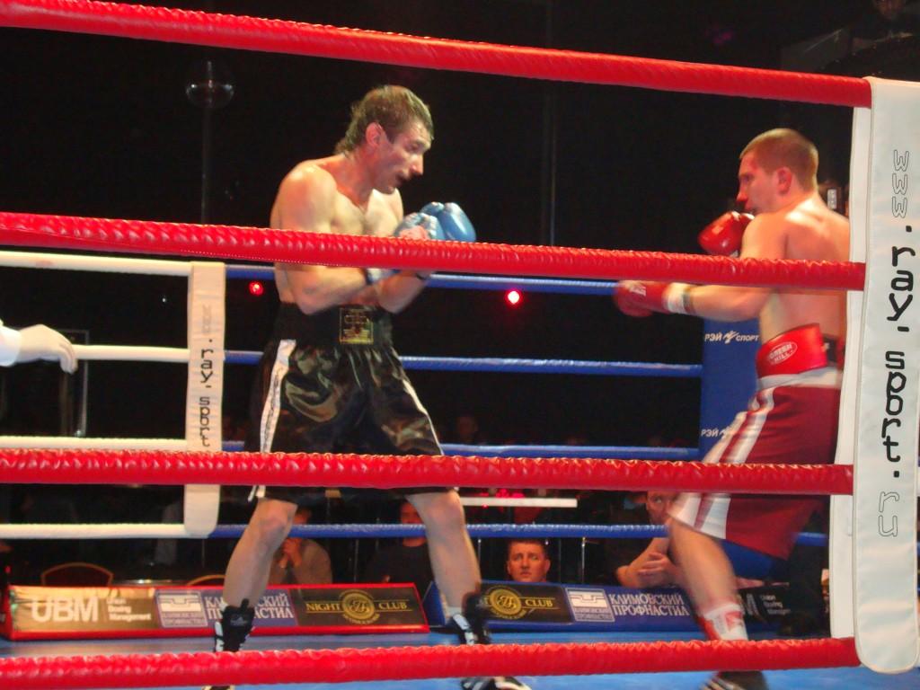 Результаты боксерских поединков в Подольске (1)