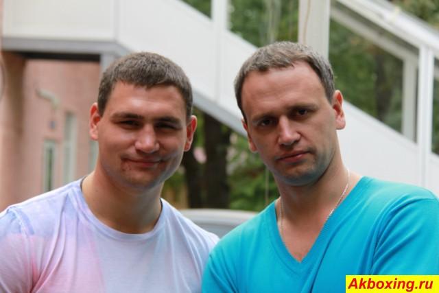 Александр Алексеев с братом