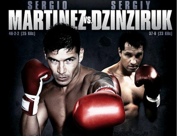 Серхио Мартинес - Сергей Дзинзирук. Супербой 12 марта (1)