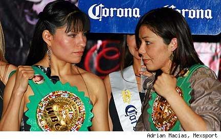 Война мексиканских чемпионок: Ана Торрес против Джеки Навы (1)