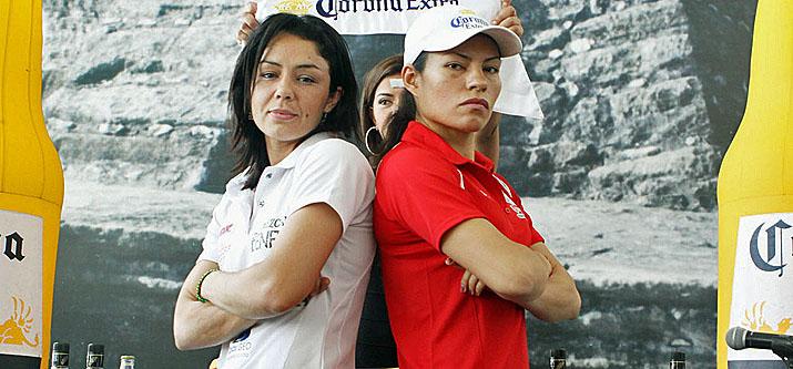 Война мексиканских чемпионок: Ана Мария Торрес - Джеки Нава (1)