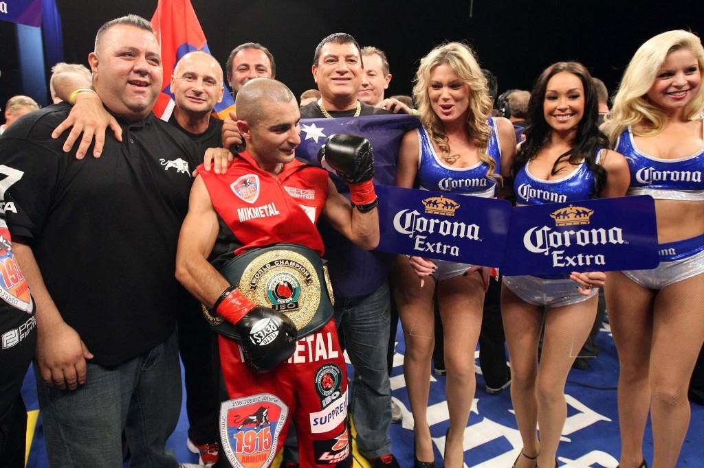 Вик Дарчинян завоевал пояс чемпиона Мира IBO (2)
