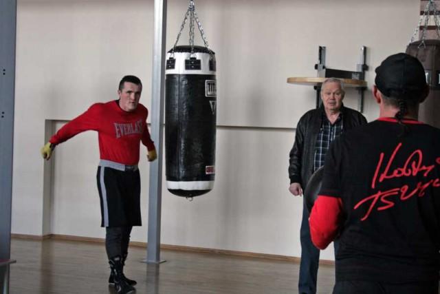 Виктор Петрович Агеев посетил лагерь подготовки Дениса Лебедева (1)