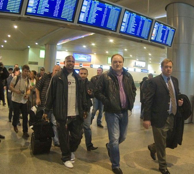 Рой Джонс младший прибыл в Москву! (1)
