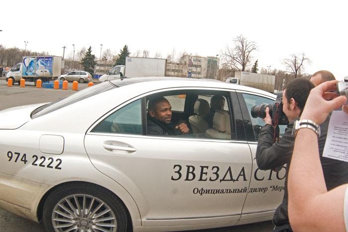Рой Джонс младший прибыл в Москву! (2)