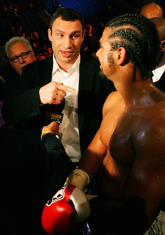 Дэвид Хэй: Первый раунд в бою с Кличко уже за мной (1)