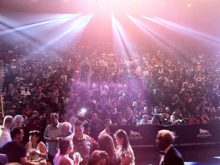 Взвешивание в Лас-Вегасе: Шейн Мосли - Мэнни Пакьяо  (2)