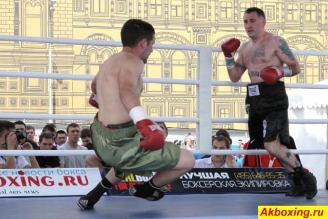 Профессиональный бокс на Красной площади! (1)