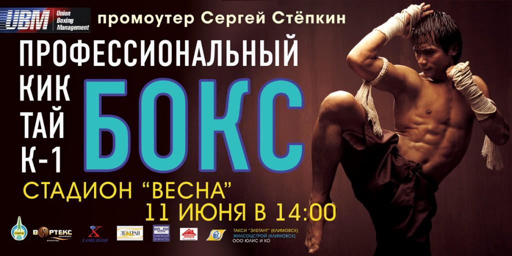 Профессиональный бокс в Климовске (1)