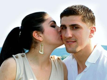 Марко Хук и его невеста (1)