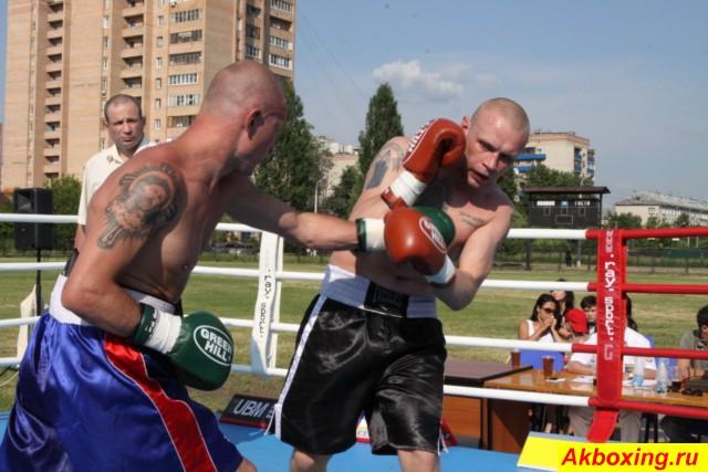 Профессиональный бокс в Климовске. Результаты. (1)