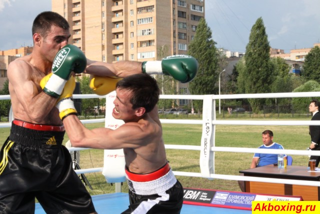 Профессиональный бокс в Климовске. Результаты. (3)
