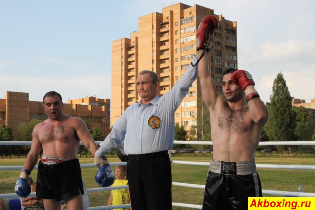 Профессиональный бокс в Климовске. Результаты. (2)